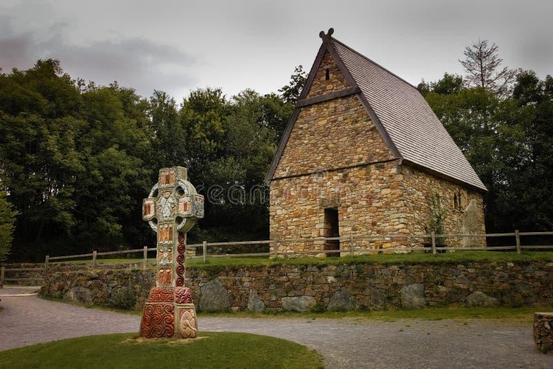 Det irländska nationella arvet parkerar Wexford ireland arkivbilder