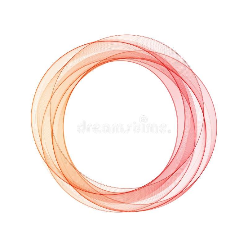 Det kan vara n?dv?ndigt f?r kapacitet av designarbete f?rgade cirklar kaotisk ordning - royaltyfri illustrationer