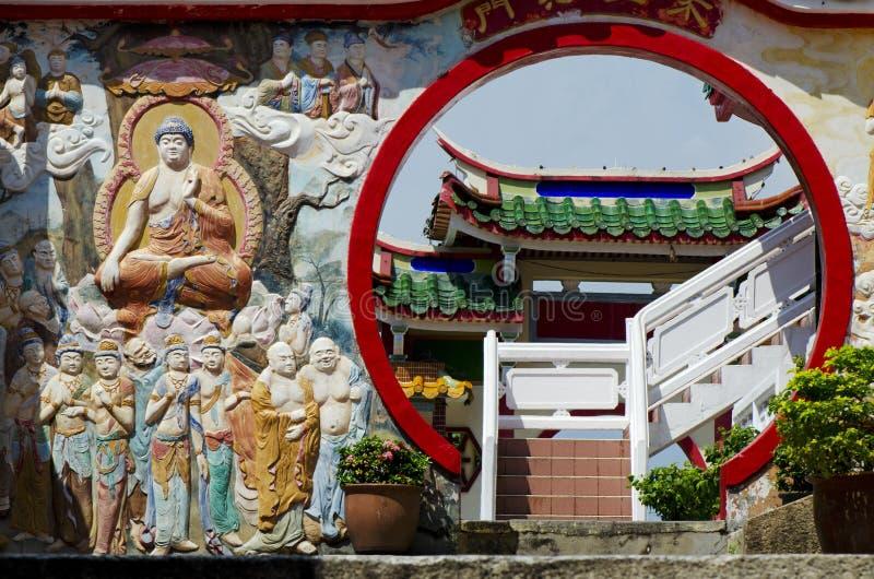 Det Kek Lok Si tempelet royaltyfria foton
