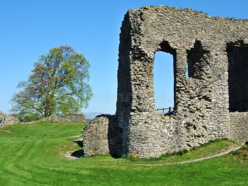 det kendal slottet återstår royaltyfri bild