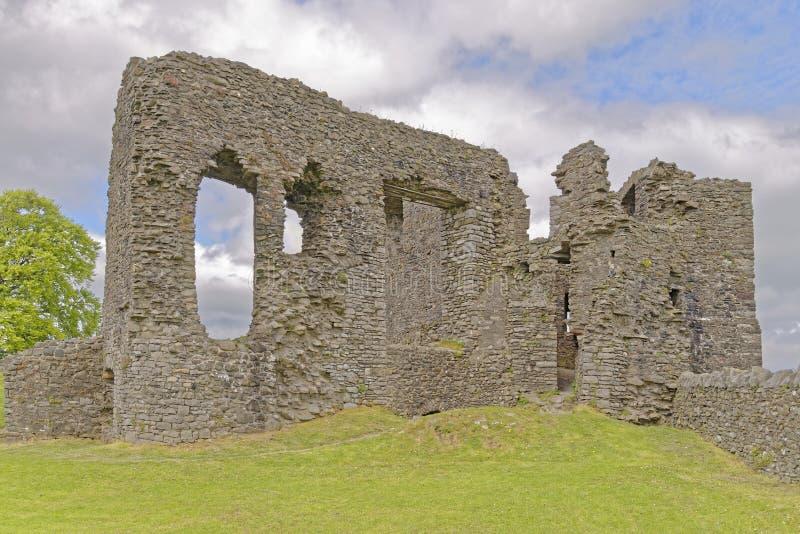 det kendal slottet återstår arkivfoto