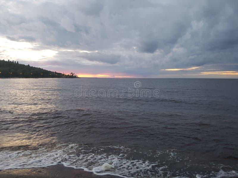 Det Kiev havet royaltyfria foton