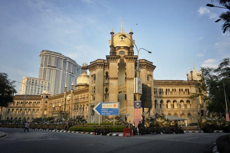 Det Kuala Lumpur drevet posterar fotografering för bildbyråer
