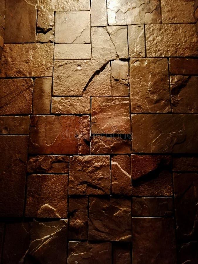 Det lösa stenmurverket målade royaltyfria foton