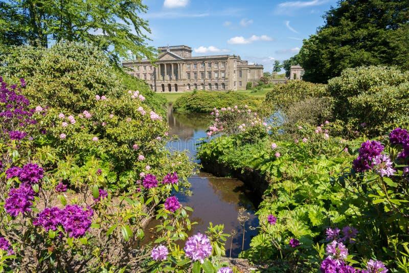 Det Lyme huset på Lyme parkerar Cheshire royaltyfria foton