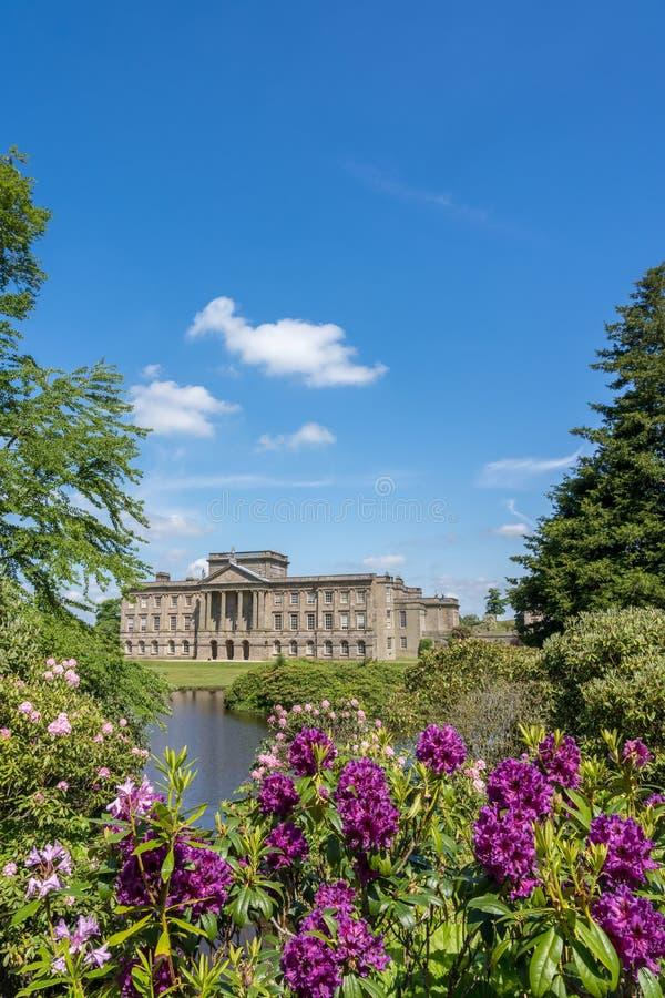 Det Lyme huset på Lyme parkerar Cheshire royaltyfri foto