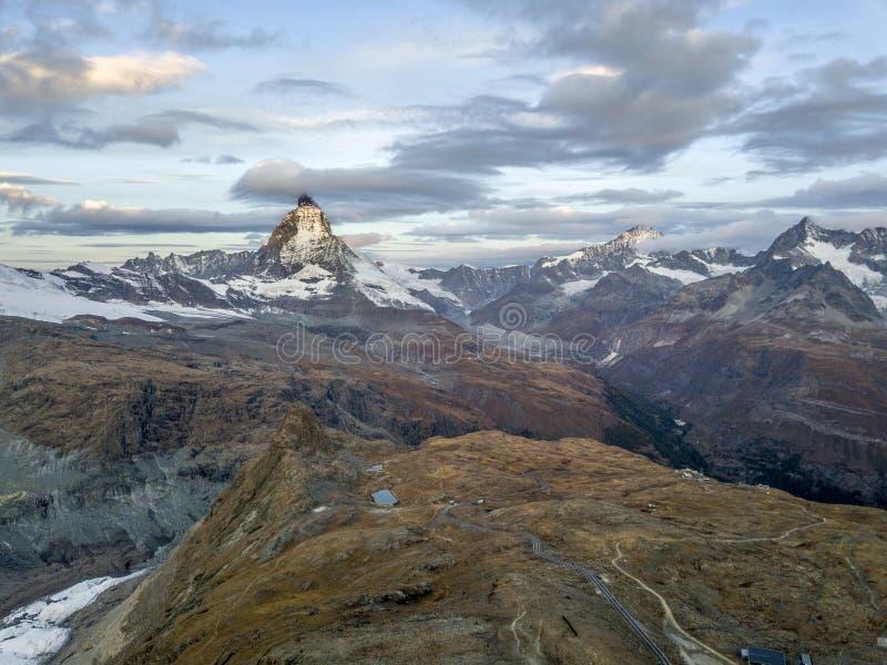 det Matterhorn maximumet fotografering för bildbyråer