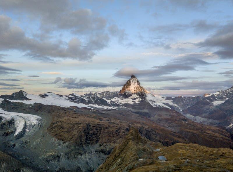det Matterhorn maximumet royaltyfri fotografi