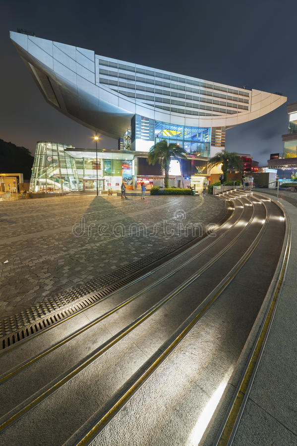 Det maximala tornet, Hong Kong arkivfoton
