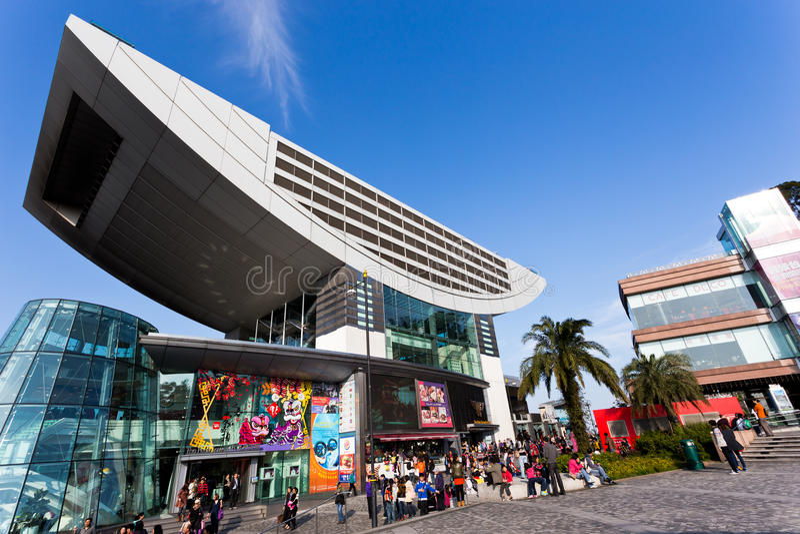 Det maximala tornet i Hong Kong arkivfoton