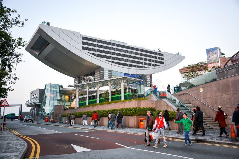 Det maximala tornet i Hong Kong royaltyfria foton