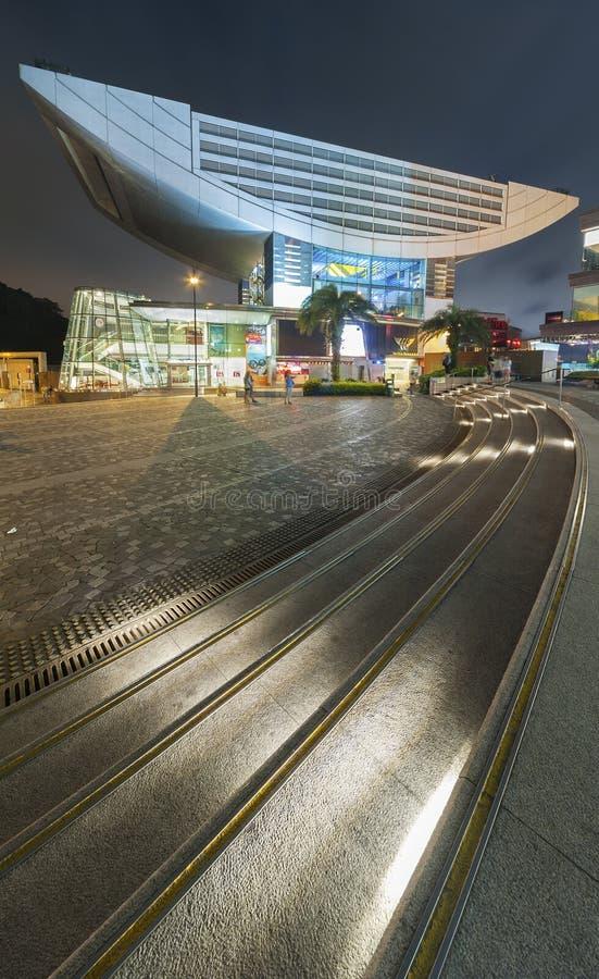 Det maximala tornet i Hong Kong fotografering för bildbyråer