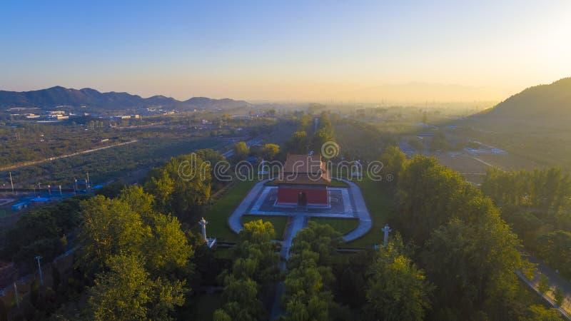 Det Ming Tombs beijing porslinet royaltyfria foton