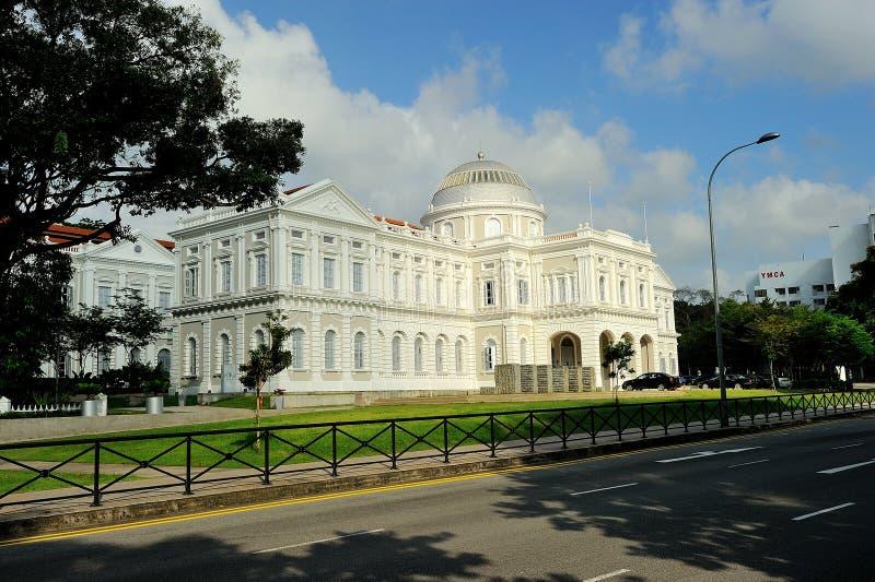 Det nationella museet av Singapore royaltyfri fotografi