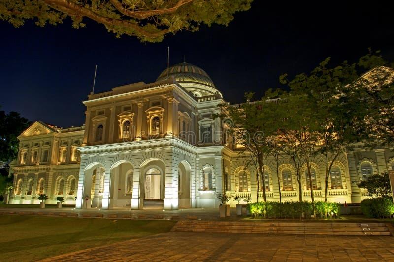 Det nationella museet av Singapore royaltyfria bilder
