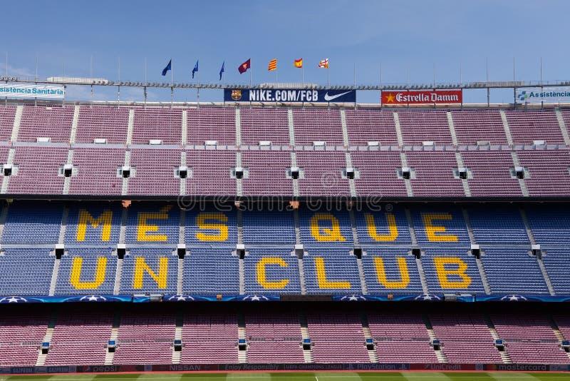 Download Det Nou lägret, Barcelona redaktionell foto. Bild av pitch - 78727075