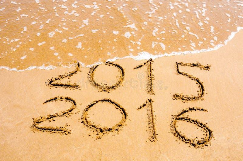 Det nya året 2016 är det kommande begreppet arkivfoto