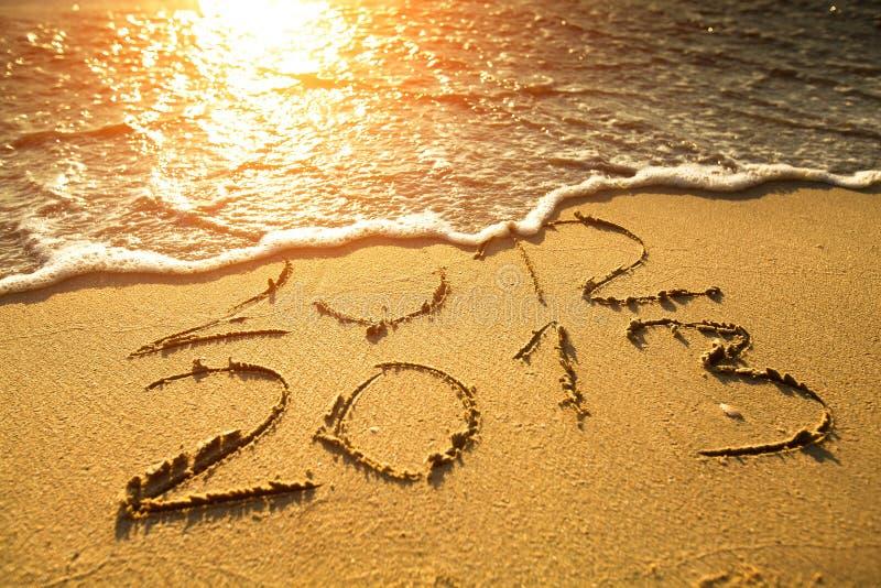 Det nya året 2013 är kommande! royaltyfri fotografi