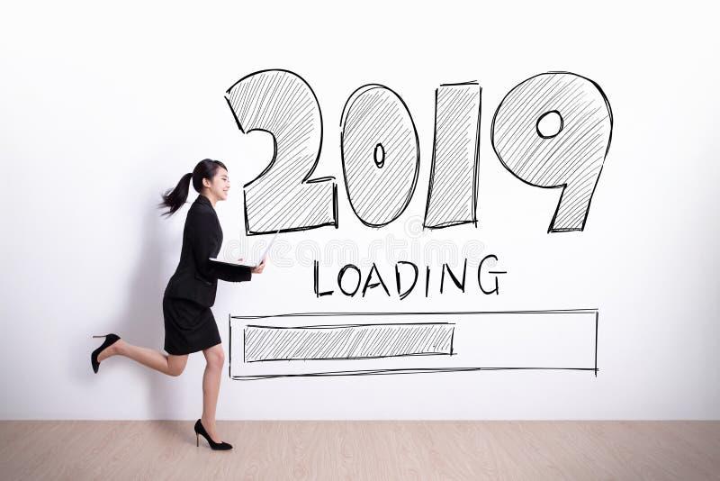 Det nya året laddar nu arkivfoton