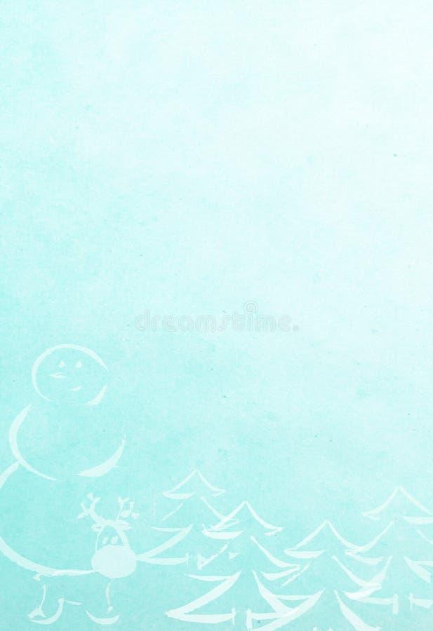 Det nya året och att gifta sig Cristmas teckningsbakgrund royaltyfri illustrationer