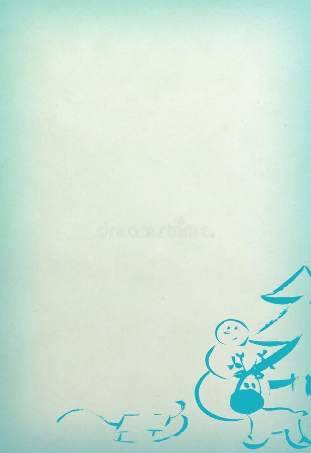 Det nya året och att gifta sig Cristmas teckningsbakgrund vektor illustrationer