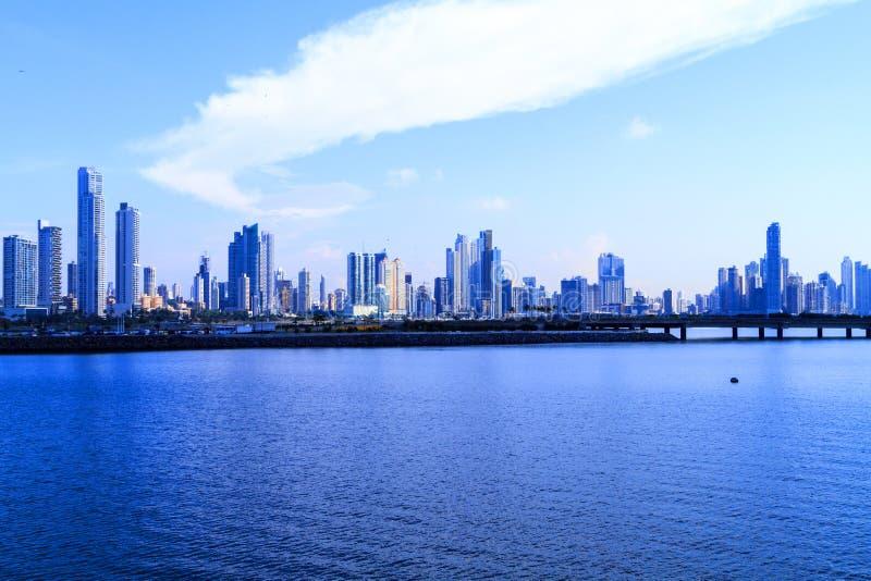 Det nya Panamaet City fotografering för bildbyråer