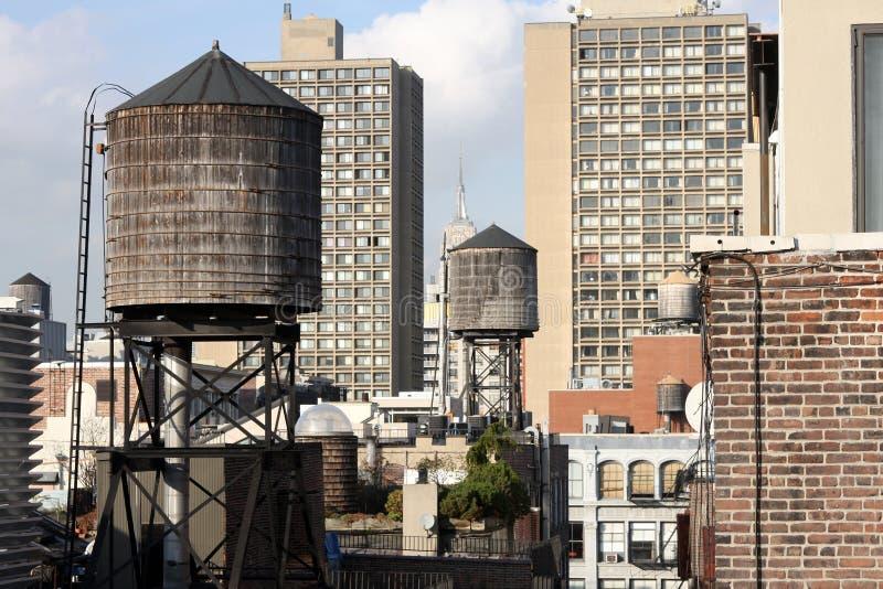 det nya taket tops york arkivfoto