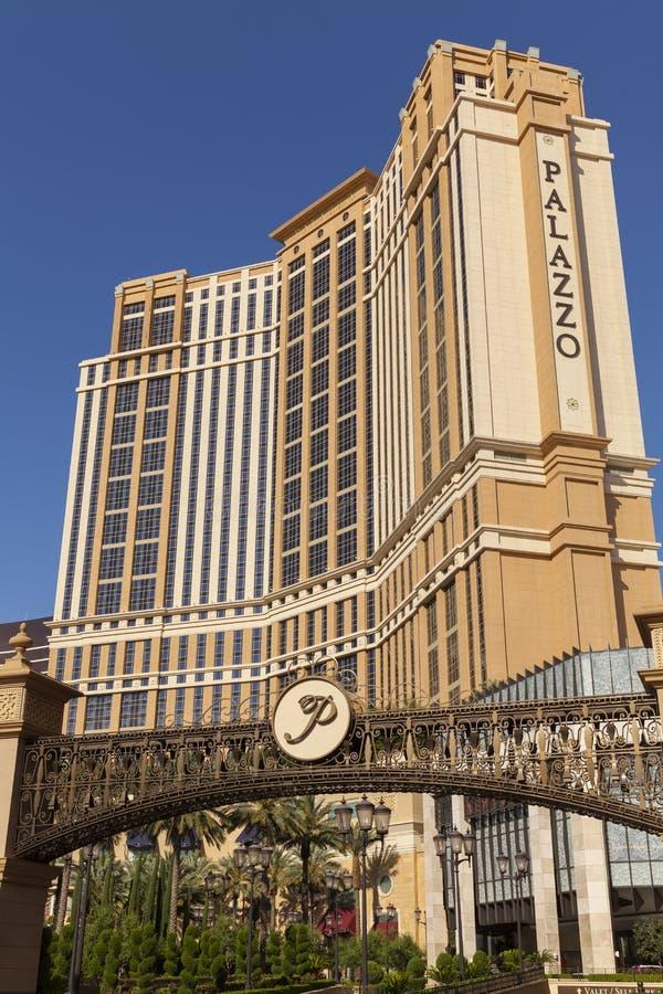Det Palazzo hotellet i Las Vegas, NV på Juni 05, 2013 arkivbilder