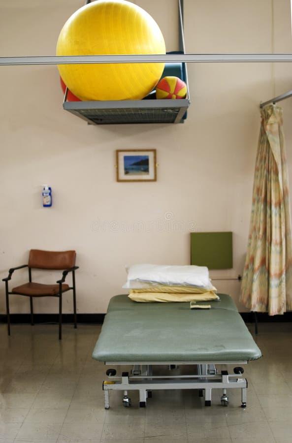 det physio sjukhuset avvärjer fotografering för bildbyråer