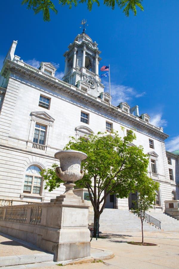 Det Portland stadshuset är mitten av stadsstyrelsen i port royaltyfri foto