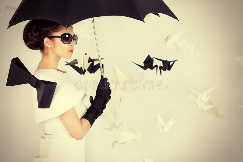 Det regnar royaltyfri foto