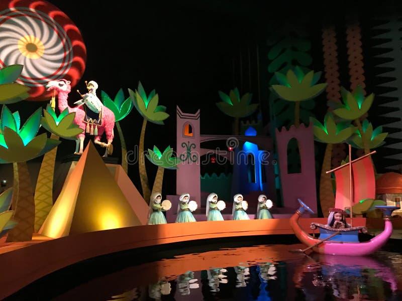 Det ` s en liten världsritt, Walt Disney World, Florida royaltyfria foton