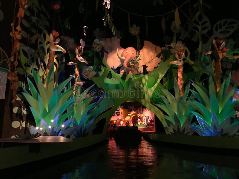 Det ` s en liten världsritt, Walt Disney World, Florida arkivbild