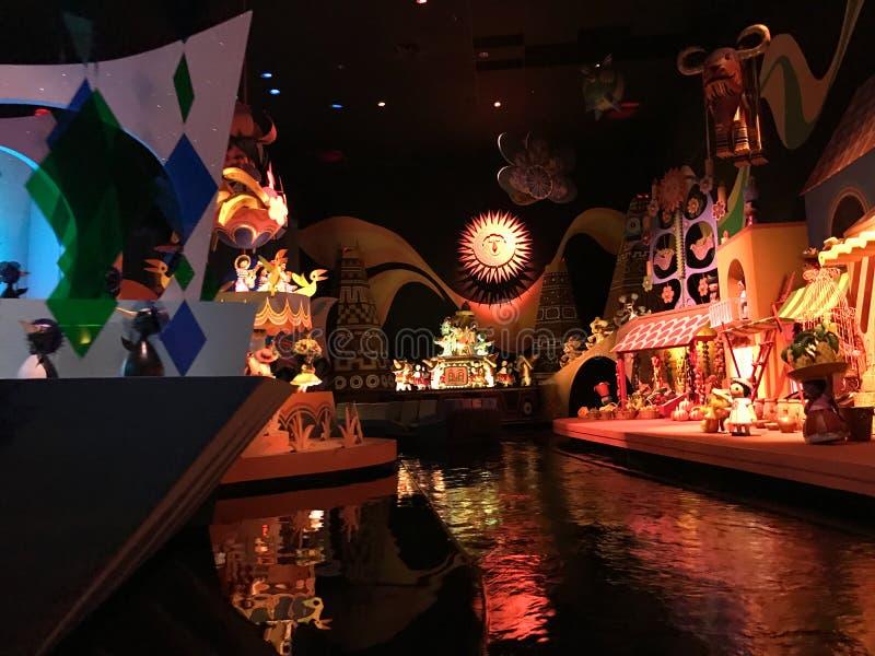 Det ` s en liten världsritt, Walt Disney World, Florida royaltyfri fotografi