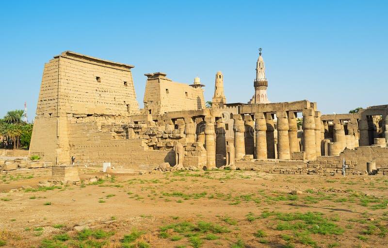 Det stolt av Luxor royaltyfri bild