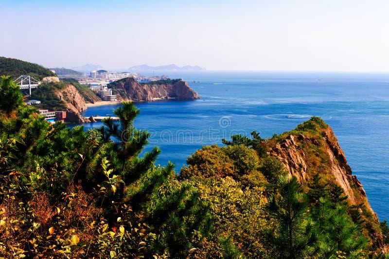 Det stora havet för blått royaltyfri foto