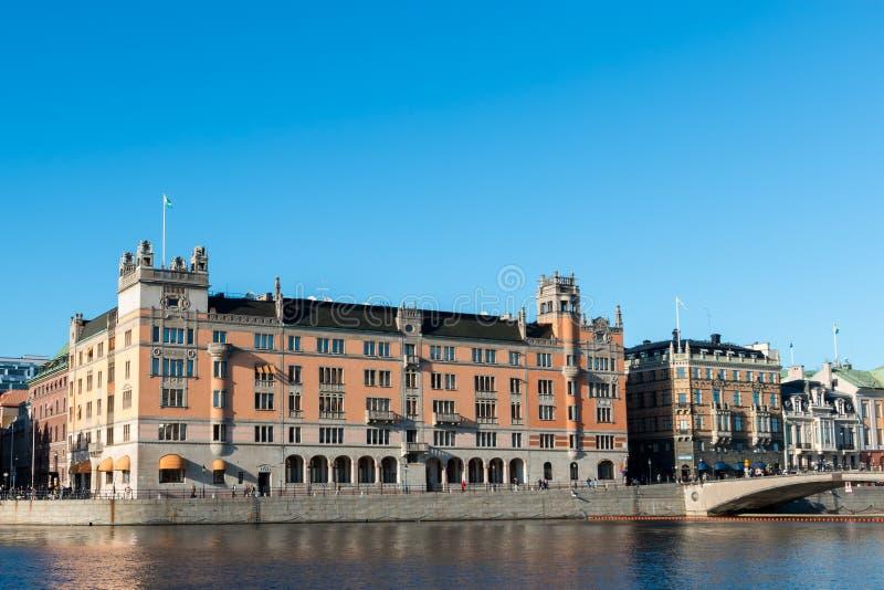 Det svenska kanslit Rosenbad arkivfoto