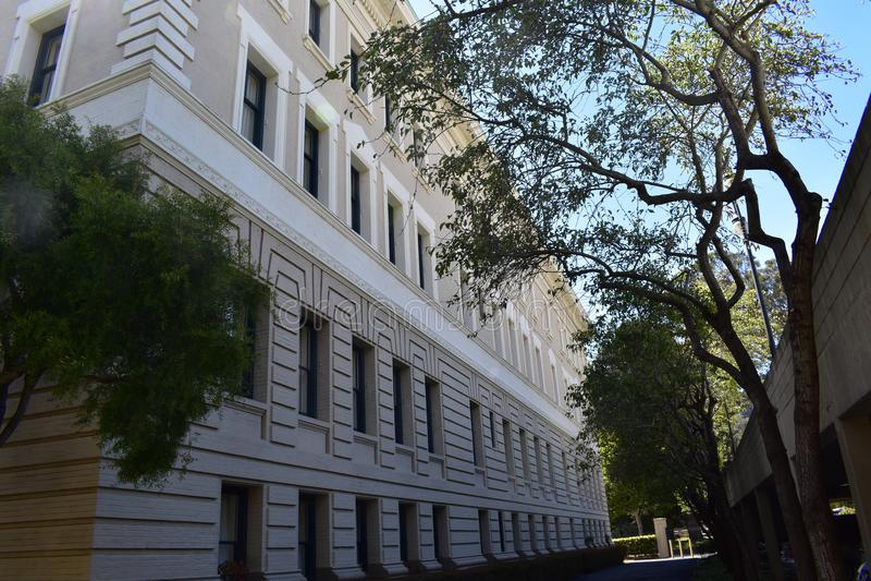 Det sydliga Stillahavs- sjukhuset vände högt hus för förskoningterrassen, 9 royaltyfria bilder