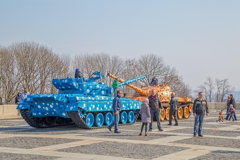 Det ukrainska statliga museet av det stora patriotiska kriget royaltyfri bild