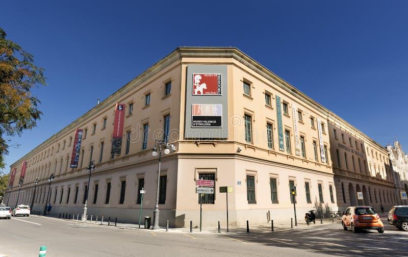 Det Valencian museet av etnologi royaltyfri bild