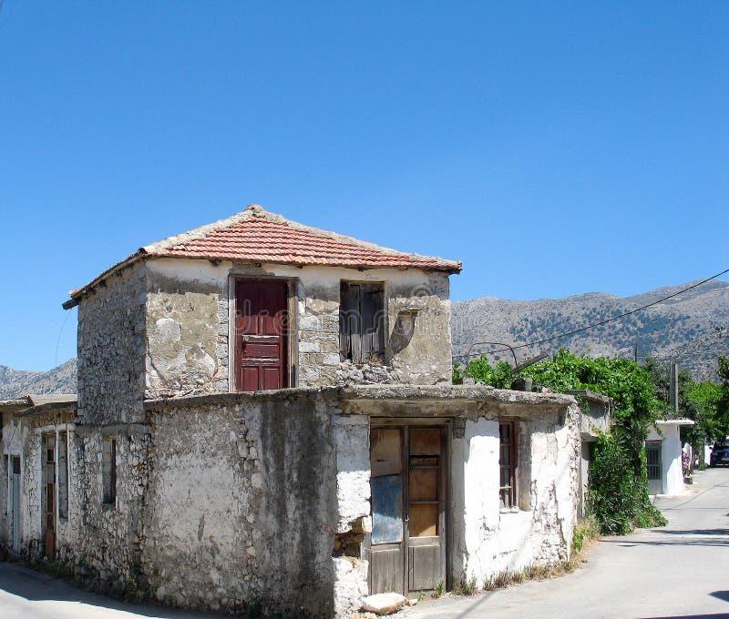 Det vanligaliv i Crete fotografering för bildbyråer