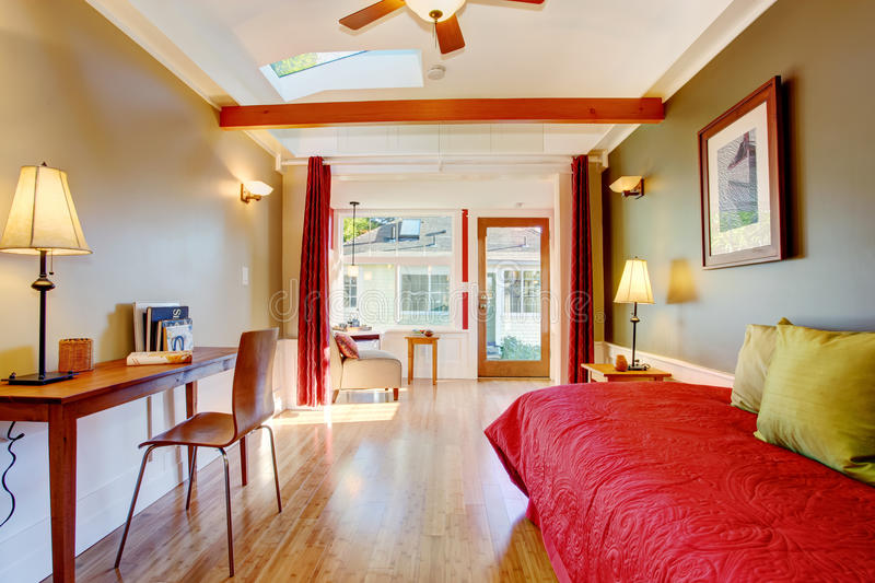 Detached Small Guest House Vacation Rental Cottage Stock