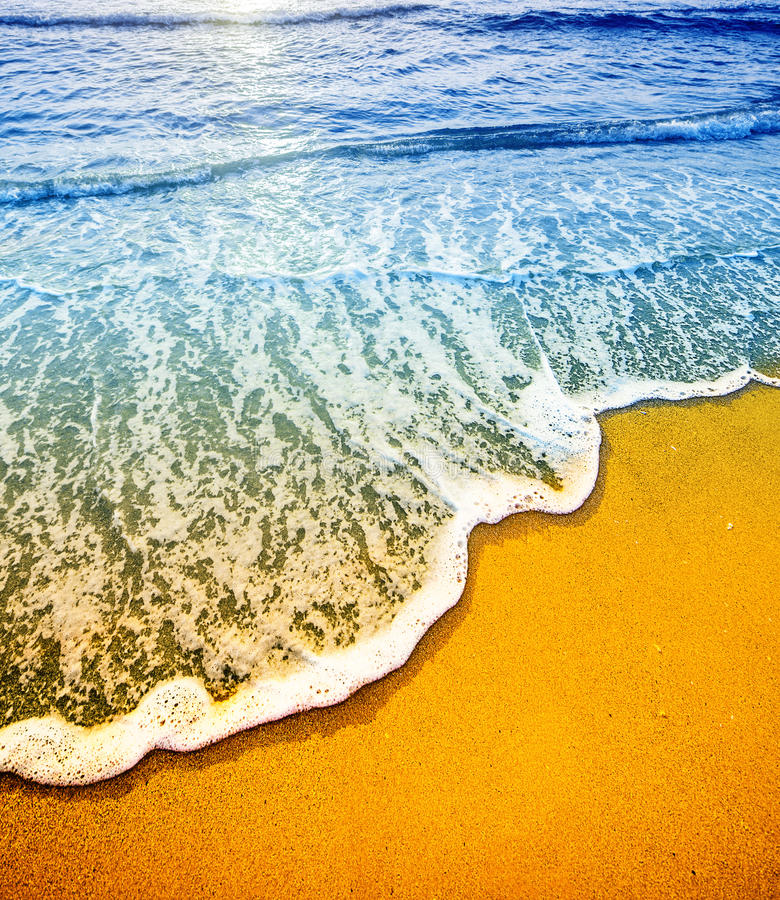 Detai van het strand stock foto's