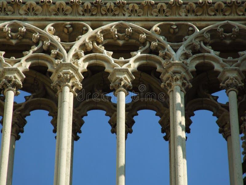 Detail 1.0 van de architectuur stock afbeelding