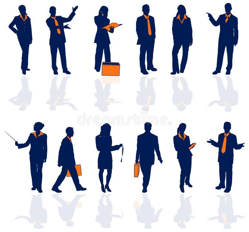 Detail 1 bedrijfs van Mensen vector illustratie