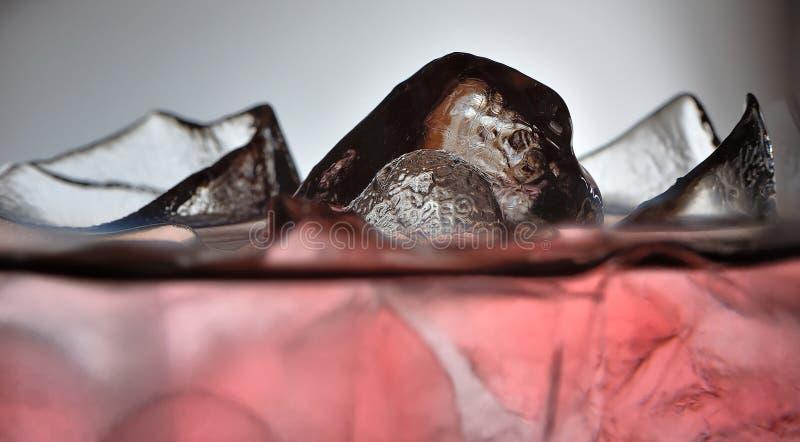 Detail 3 van het ijs royalty-vrije stock afbeeldingen