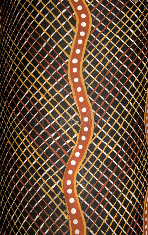 Download Detail Of Aboriginal Abstract Art Stock Illustration - Image: 9140513