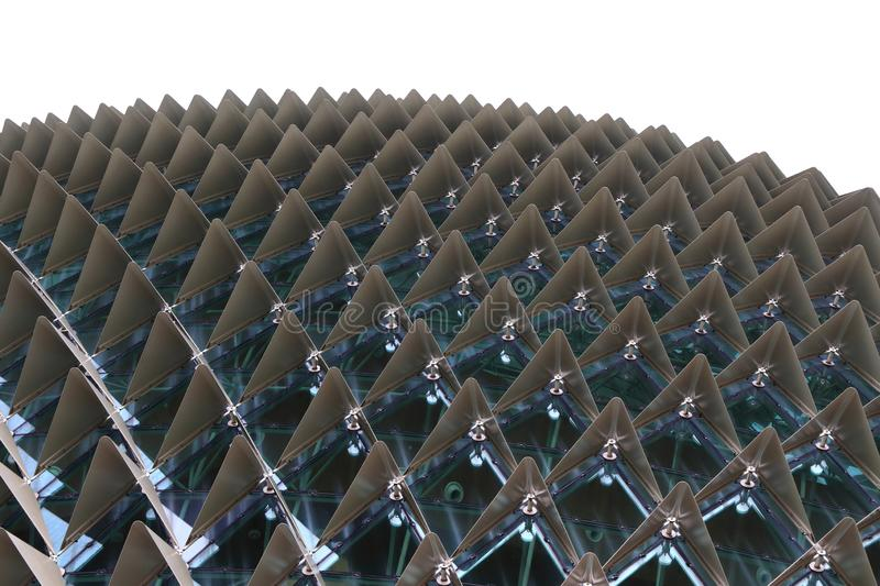 Detail of abstract architecture texture background stock image