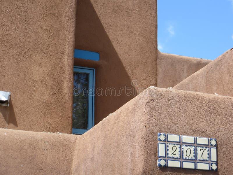 Adobe house, Taos, New Mexico royalty free stock photos