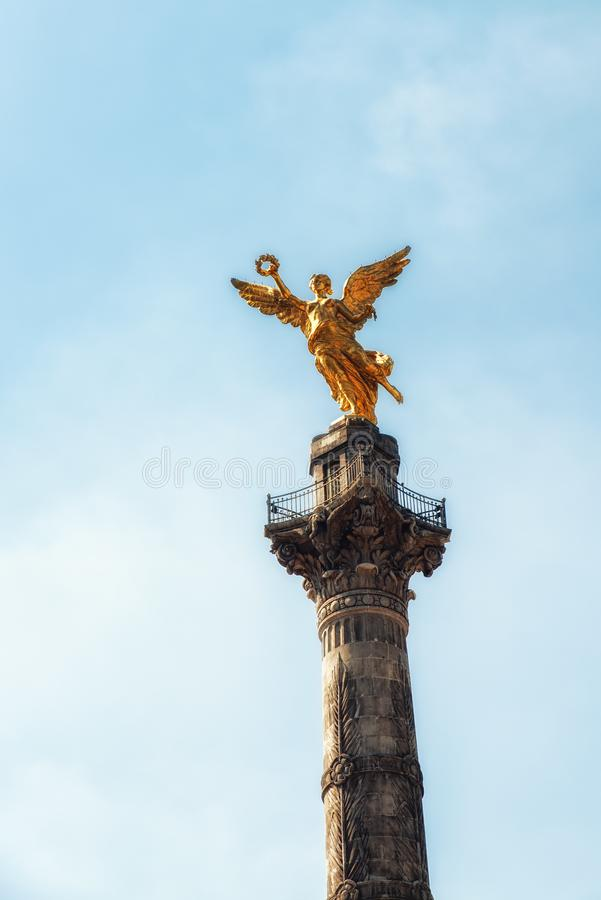 Angel of Independence Monument - Mexico City, Mexico stock photos